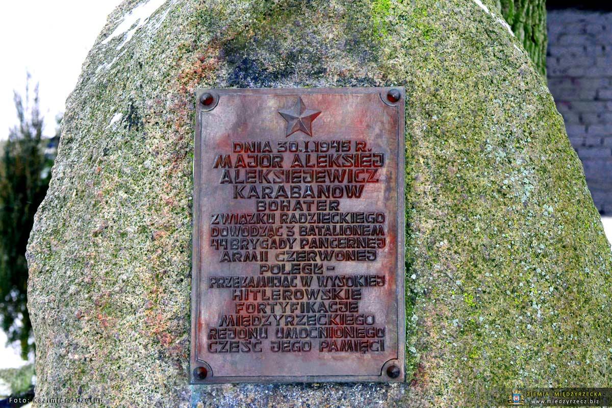 Radni we wtorek, 13 lutego, br. będą radzić nad losem pomników w Gminie Międzyrzecz