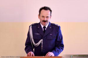 Dyrektor Aresztu Śledczego w Międzyrzeczu ppłk. Arkadiusz Tomczak
