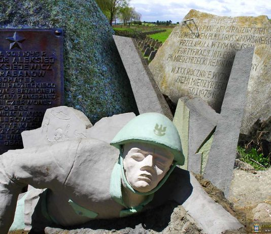 Burzenie pomników w Gminie Międzyrzecz
