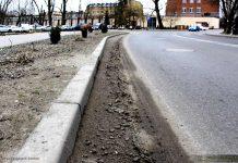 Brudne ulice w Międzyrzeczu