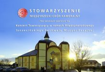 Koncert Towarzyszący w ramach Międzynarodowego Szczecińskiego Festiwalu Muzyki Pasyjnej