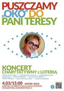 Koncert dla Teresy Stoińskiej - PLAKAT