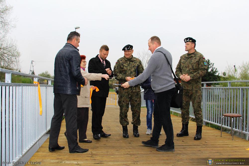 Mostek w Świętym Wojciechu oficjalnie oddany do użytku