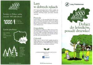 1000 drzew na minutę