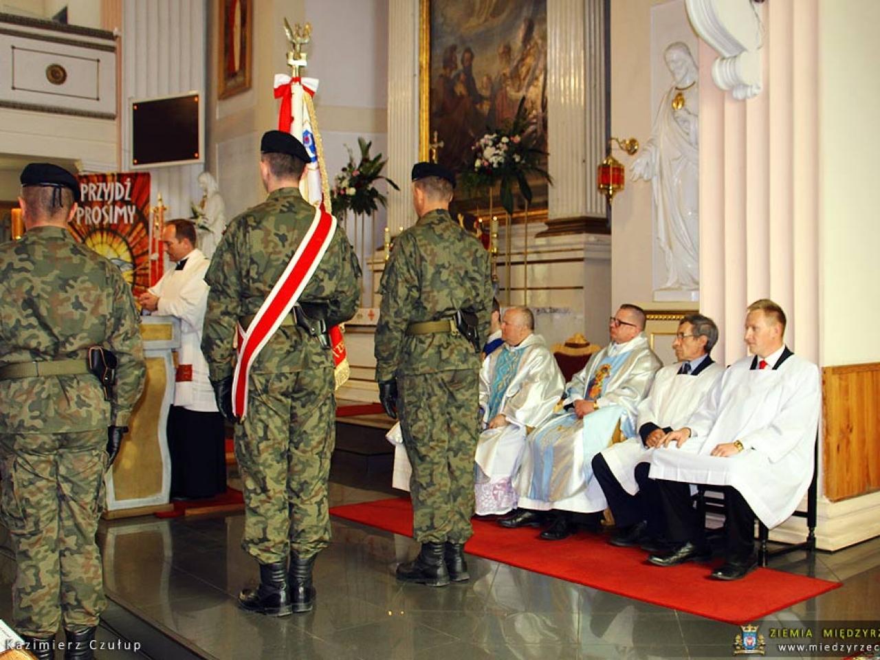 Uroczyste obchody 227. rocznicy uchwalenia Konstytucji 3 Maja w Międzyrzeczu