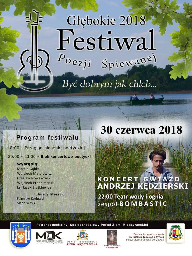 Festiwal poezji Śpiewanej - plakat