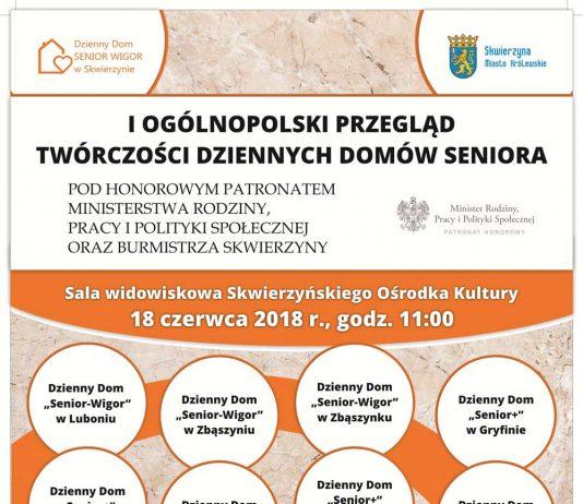 Pierwszy Ogólnopolski Przegląd Twórczości Dziennych Domów Seniora