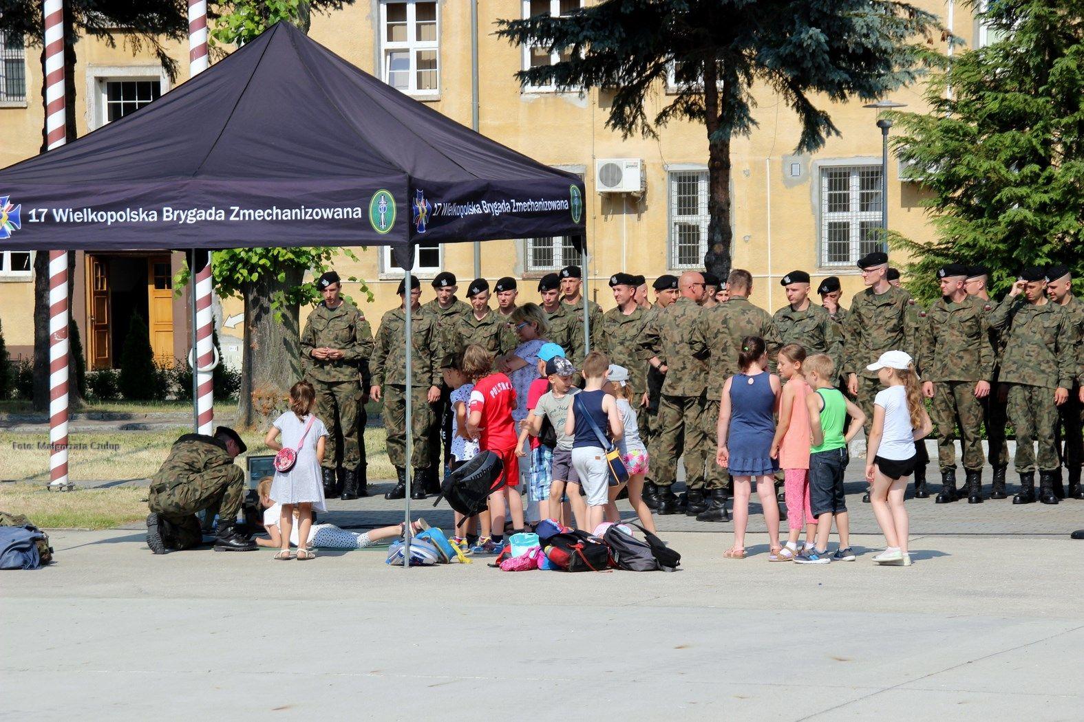 Militarny Dzień Dziecka w 17WBZ