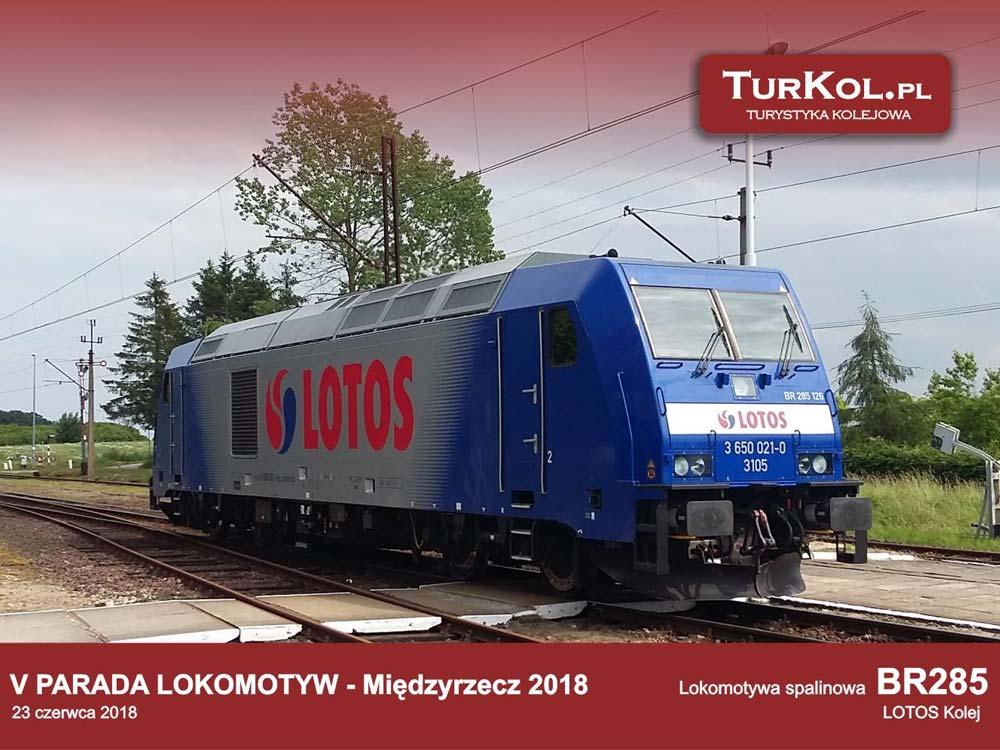 V Parada Lokomotyw - Międzyrzecz 2018