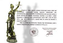 Wyrok Naczelnego Sądu Administracyjnego