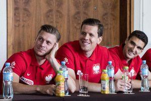 Spotkanie z zawodnikami i sztabem szkoleniowym reprezentacji Polski ,