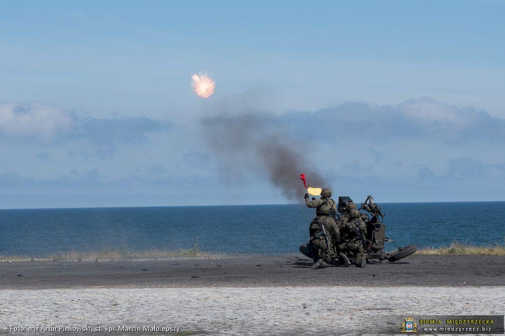 Strzelania rakietowe w Ustce