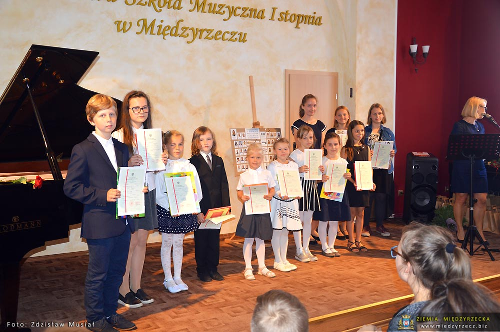 Koncert i zakończenie roku szkolnego w Szkole Muzycznej