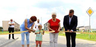 Oficjalne otwarcie przebudowanej drogi w Bukowcu