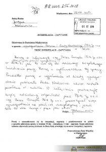 apytanie pani Justyny Adamirowicz