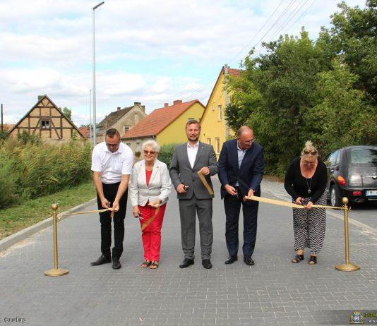 Uroczyste otwarcie drogi w Gorzycy