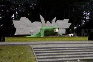 Pomnik żołnierza w Kęszycy Leśnej