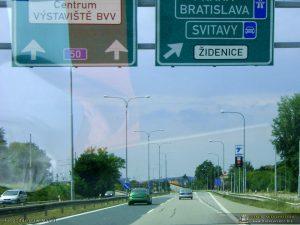 Brno jest tam
