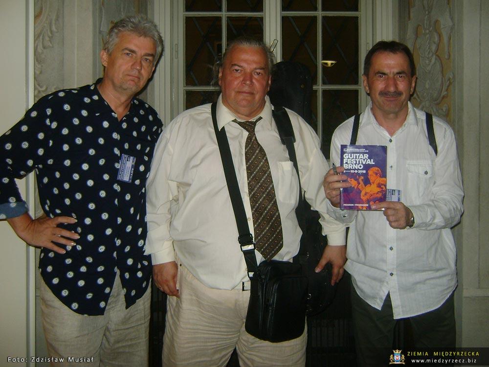Krzysztof Nieborak, Nikita Koshkin i Zdzisław Musiał