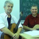 Krzysztof Nieborak i Igor Szoszin