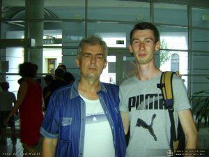 Krzysztof Nieborak i Ivan Gulai