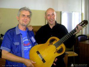 Krzysztof Nieborak i Michel Greci