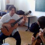 Lucjano Tortorelli prowadzi lekcje