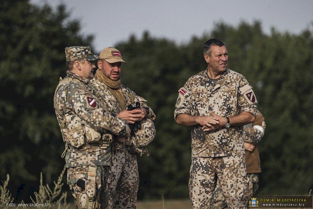 Manewry na Łotwie