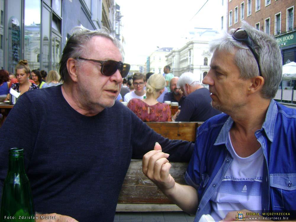 Milan Tresar i Krzysztof Nieborak