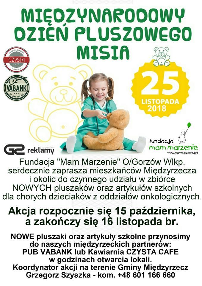 Międzynarodowy Dzień Pluszowego Misia