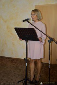 Dyrektor szkoły muzycznej Małgorzata Telega-Nowakowska