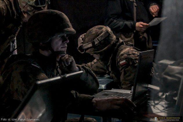Ćwiczenie taktyczne z wojskami pod kryptonimem Borsuk-18