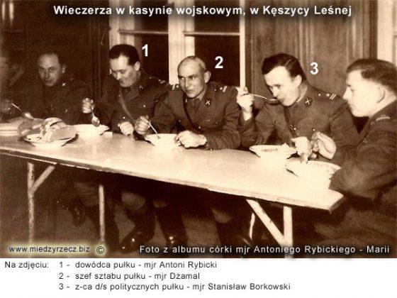 Zdjęcia z albumu rodzinnego córki mjr. Antoniego Rybickiego - Marii.