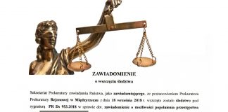 Działalność byłego prezesa PGK w Międzyrzeczu pod lupą Prokuratury