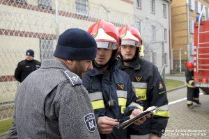 Pożar i bunt w międzyrzeckim areszcie