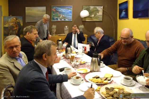 Wyjazdowe posiedzenie Prezydium ZW LOK w Międzyrzeczu (OW Głębokie)