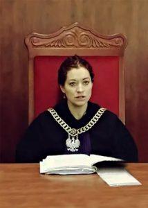 Sędzia Olimpia Barańska-Małuszek