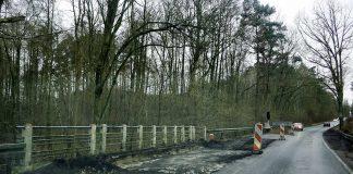 Trwają prace remontowe przepustu na drodze nr 137