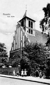 Widok ogólny kościoła - początek XX w.