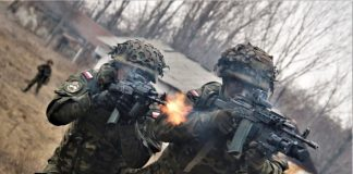 Tygodniowe szkolenie taktyczne drużyn zmotoryzowanych