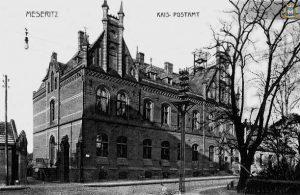 Urząd Pocztowy w Międzyrzeczu - HISTORIA