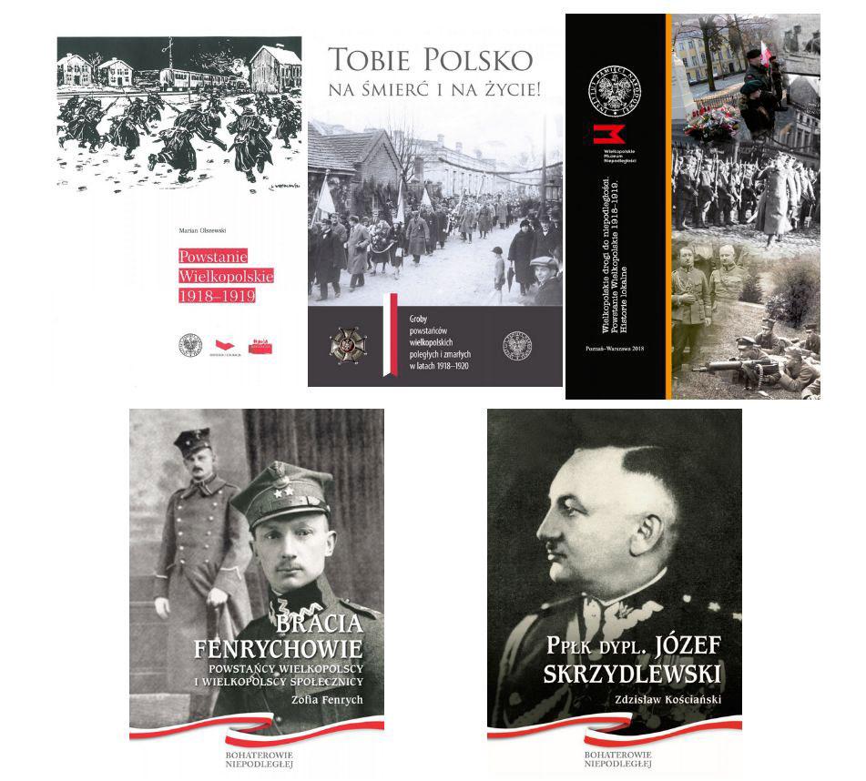 Powstanie Wielkopolskie - ksiażki