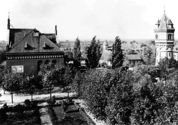 Wieża ciśnień w Obrzycach