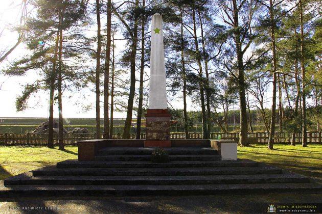 Cmentarz żołnierzy radzieckich poległych w II wojnie światowej w walce z niemieckim faszyzmem