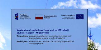 Remont drogi wojewódzkiej nr 137