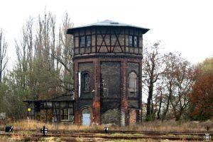 Kolejowa wieża wodna