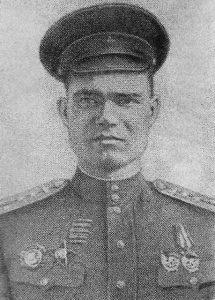 major Aleksiej Aleksiejewicz Karabanow – dowódca 3 batalionu czołgów 44 BPanc