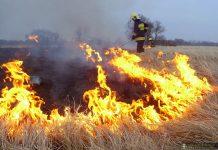 Pożar na poligonie