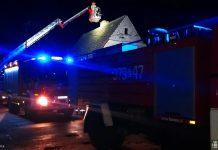 Niespokojny weekend u strażaków