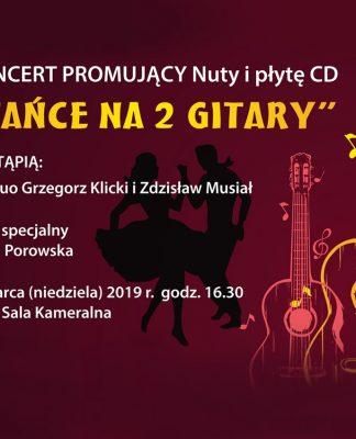 Tańce na dwie gitary - zapowiedź koncertu